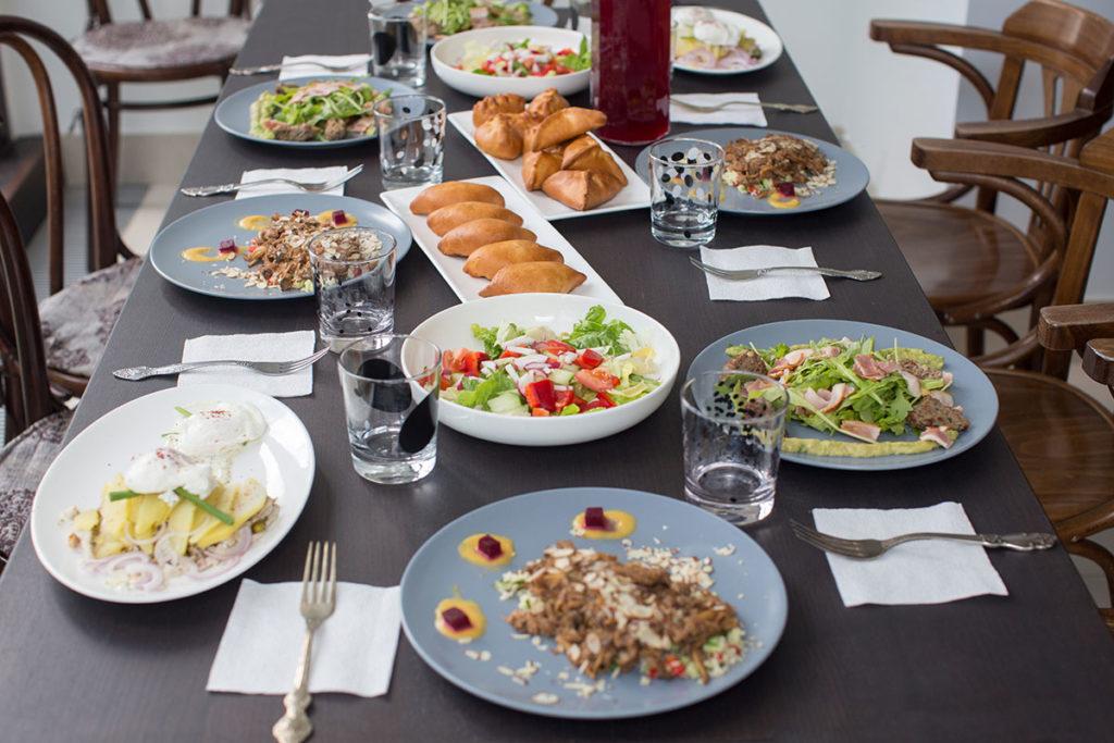 食卓の食材