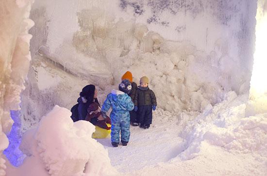 Niseko Ice Village制作の苦労
